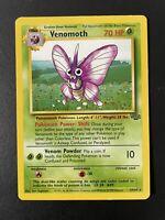 Pokemon WOTC Venomoth 29/64 Jungle UNLIMITED Non-Holo Rare LP/NM