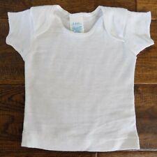 Vtg Spencer's White Baby T-shirt 6 Months