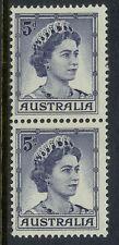 Stamps Australia 5d blue QE2 definitive coil perforation, MUH