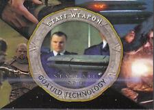 STARGATE SEASON FOUR GOA'ULD TECHNOLOGY CARD G7