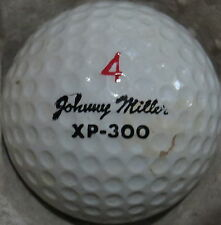 (1) JOHNNY MILLER SIGNATURE LOGO GOLF BALL (WILSON XP-300 CIR 1972) #4