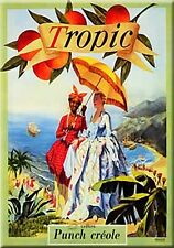French Advertising Sign -  Tropic Punch Creole Tiki Bar
