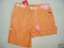 Gymboree CHERRY BABY Orange Ribbon Stripe Roll-Up Bermuda Short NWT 3