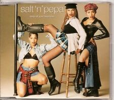 SALT 'N' PEPA None Of Your Business 4track AUSTRIA CD
