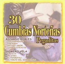 NEW 30 Cumbias Norteñas Pegaditas (Audio CD)