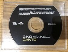 """Gino Vannelli - Canto - promo shaped 3"""" CD"""