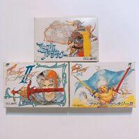 FINAL FANTASY 1 2 3 I II III with Box and Manual Famicom Japan games FC NES FS