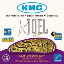 Componentes y piezas KMC oro para bicicletas