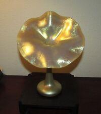 Carl Radke Jack in Pulpit iridescent vase Phoenix studios art glass