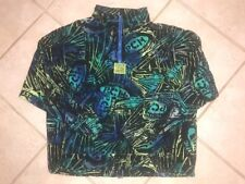 Vintage 1980s Pacific Coast Highway Pch Pullover Jacket All Over Print Design M
