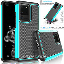 Rugged Armour Silicone Hard Shockproof Case Cover For Samsung Galaxy S20 S10 S9