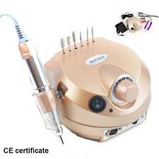 Portable Electric Nail Art Drill File Manicure Pedicure Pen Machine 35000RPM USA