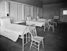 Photo. 1926. Pacific Northwest.  Tuberculosis Hospital Beds
