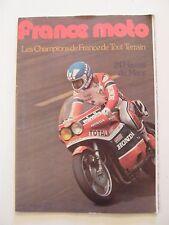 France Moto Mai 1980 N°135 Champions de France Tout Terrain 24 heures du Mans