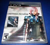 Lightning Returns: Final Fantasy XIII Sony PlayStation 3 *New-Sealed-Free Ship!
