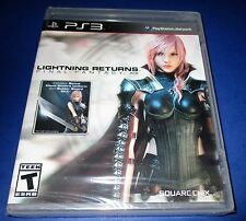 Lightning Returns: Final Fantasy Xiii Sony PlayStation 3 *New-Sealed-Free Ship!