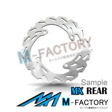 Rear Brake Disc MX Rotor x1 Fit YAMAHA WR 450 F 03-16 04 05 06 07 08 09 10