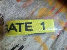 Gate 1 Luggage Travel Straps Accessories High Visibility Yellow