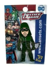 Dc Justice League Metal Enamel Pin Green Arrow Adult Collectible Fansets New