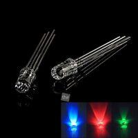 100x 5mm Gemeinsame Kathode Leuchtdioden Emitting Dioden LED Lampe Rot-Grün-Blau