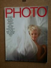 Magazine PHOTO 162 Le Film Erotique Marilyn Monroe Douglas Kirkland Jacob Riss