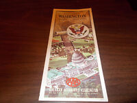 1968 AAA Washington, DC /Annapolis/Mount Vernon Vintage Road Map