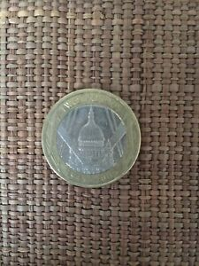 2005 £2 Two Pound Coin St Pauls Cathedral Upside Down Lettering Error