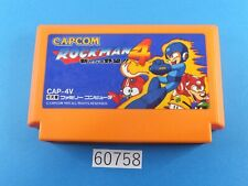 Rockman 4 MegaMan NES nintendo Famicom FC Video Games USED From Japan 60758a
