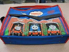 THOMAS AND FRIENDS WOODEN RAILWAY SYSTEM BAG, ROUND HOUSE STATION ,TRACK, EXTRAS