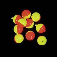Corky-Floures Gelb/Rot 12mm 5 Stück