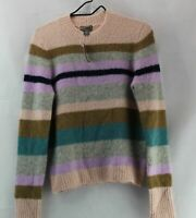 J Crew Women's NWT POINT SUR ALPACA CREWNECK SWEATER, SU1468, Small