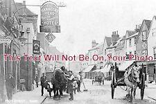 HF 218 - Saracens Head Hotel, Ware, Hertfordshire c1908 - 6x4 Photo