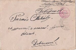 Austria Empire 1915 Seeflug Station Pola Has red and other cachet {Below}