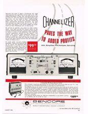 1966 Sencore MX11 Channelizer Multiplex Generato Radio Hi-Fi Service Vtg Ad