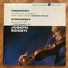 Prokofiev & Stravinsky, Szigeti, Bogas, Mercury SR 90419, First Edition ED1