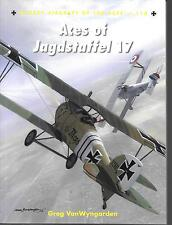 Osprey Aces of Jagdstaffel 17, Aircraft of the Aces Softcover Reference