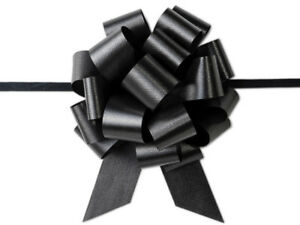 Flora Satin 5.5 Pull Bow 20 Loops Choose Color and Pack amount