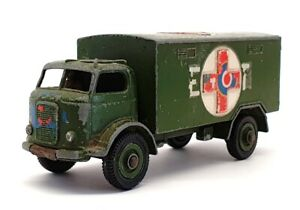Dinky Toys Appx 11cm Long 626 - Military Ambulance Truck - Green
