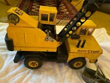 Vintage 1970-73 MIGHTY TONKA CRANE  # 3940