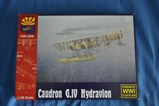 CAUDRON G.IV HYDRAVION French WWI Floatplane Fighter Copper State Models  1/48