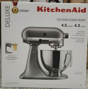KitchenAid KSM97SL 4.5 qt Standalone Mixer - Silver