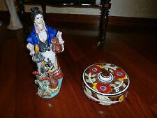 Coppia ceramica Santo Stefano di Camastra cm 30