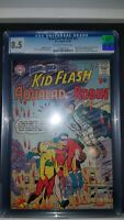 Brave and the Bold #54 8.5 VF+ CGC 1st App Teen Titans Robin Kid Flash Aqualad