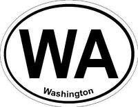 Oval (Washington); State Bumper Sticker