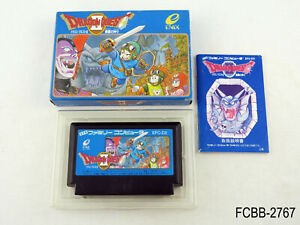 Complete Dragon Quest 2 II Famicom Japanese Import NES FC Japan JP US Seller B