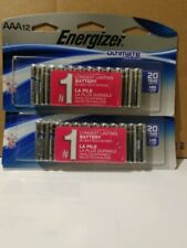 24 count Energizer AAA Ultimate Lithium Batteries