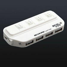 4 ports USB 2.0 High Speed avec Interrupteur Individuel B