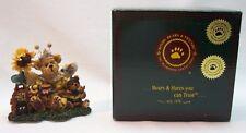 """Boyds Bearstone Collection Victoria Regina Buzzbruin 3"""" Figurine New In Box"""