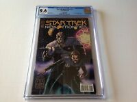 STAR TREK THE NEW FRONTIER 1 CGC 9.6 SPECIAL QUAD COVER SILVER FOIL IDW COMICS