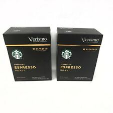 Starbucks Coffee Verismo Espresso Dark Roast Pods (24 Count) NEW In Box💥☕